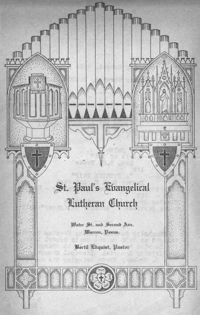 St.-Paul's-Lutheran-Church-bulletin